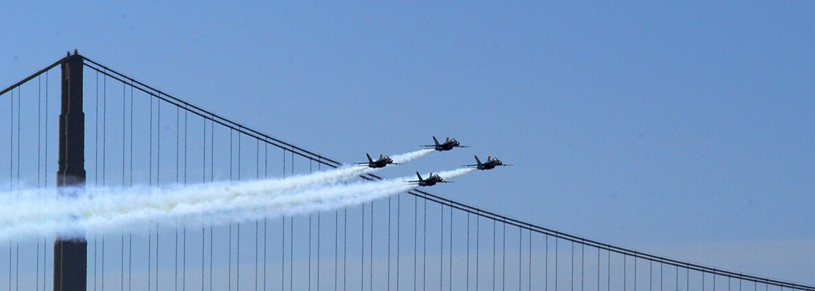 Blue Angel fighter jets